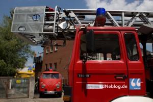 Foto: Archivbild vom Tag der offenen Tür der freiwilligen Feuerwehr im Juli 2013.