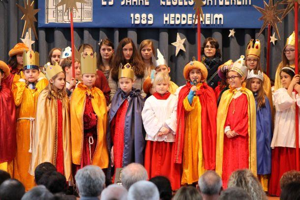 Sternsingerrap Neujahrsempfang 2014