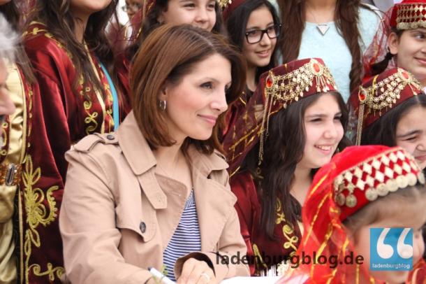 """""""Was für eine wunderschöne Stadt"""", sagte Bilkay Öney, die erste türkischstämmige Landesministerin für Integration."""
