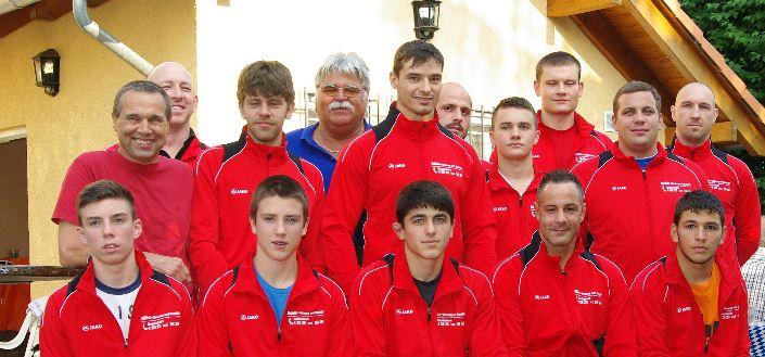 Die Mannschaft der ASV Ringer vor der neuen Saison. Foto: ASV