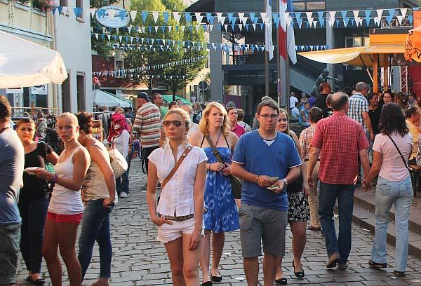 Zum 40. mal feiert Ladenburg am 14. und 15. September sein Altstadtfest.