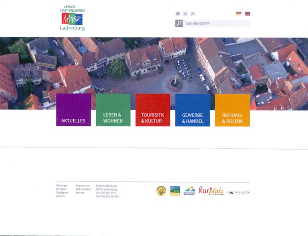 LAD Entwurf neue Webseite 2013-12-11