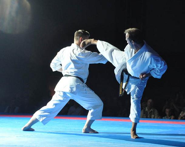 Karate, Silvio Campari