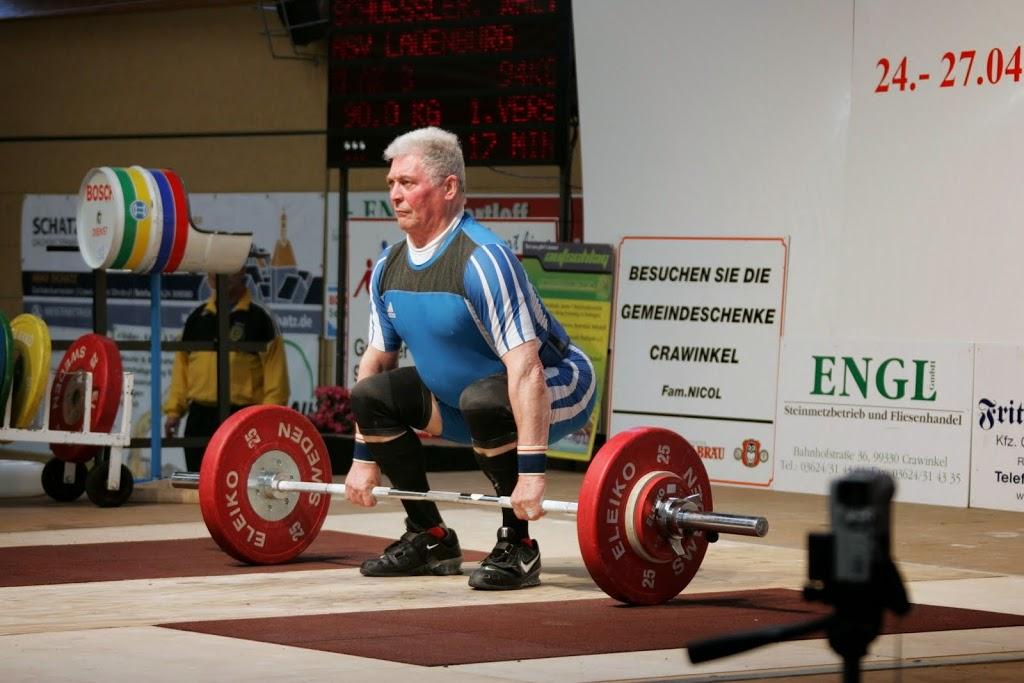 Deutsche Meisterschaften, Gewichtheben, ASV
