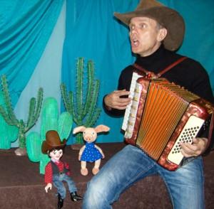 Ladenburg- Blinklichter theater-Cowboy und das pupsende Pony-kindertheater20140923-004-2